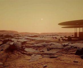 Elm adamları Marsda yaşayan ilk canlını tapdılar