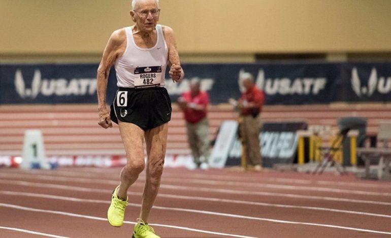 Qaçış yarışında 99 yaşlı veteran, 92 yaşlı rəqibini geridə qoydu