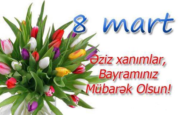 8 Mart Seirləri Və Təbrikləri Yaaz