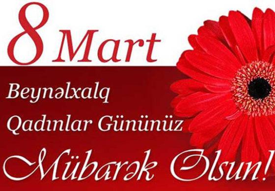 8 Mart şeirləri və təbrikləri