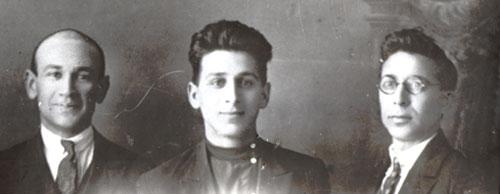 Süleyman Rüstəm, Rəsul Rza, Cəfər Cabbarlı