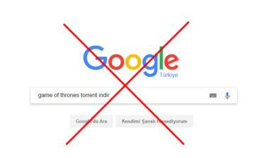 Google pirat saytları axtarış nəticələrində göstərməyəcək