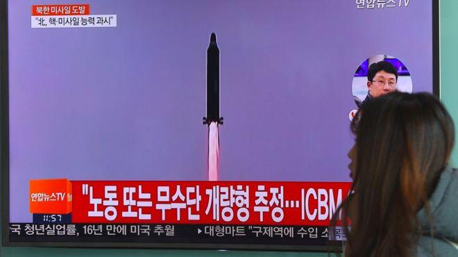 Şimali Koreya ballistik raketini sınaqdan keçirib