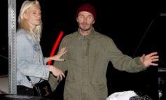 David Beckham İngiltərəli model ilə görüntülənib