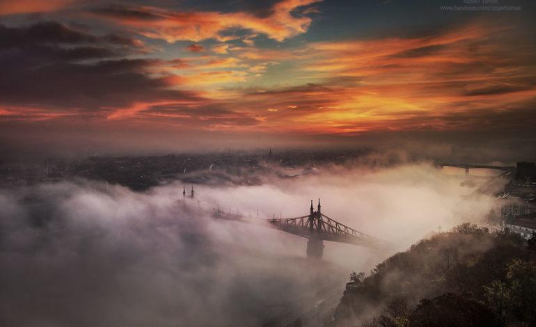 Macarıstanlı fotoqrafın dumanlı baxışlarında qədim Budapeşt