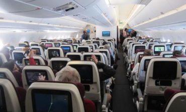 Qatar Airways təyyarəsində seks qalmaqalı - Şəkillər