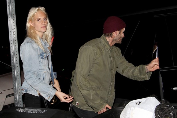 yaaz.az David Beckham ve Poppy Delevingne