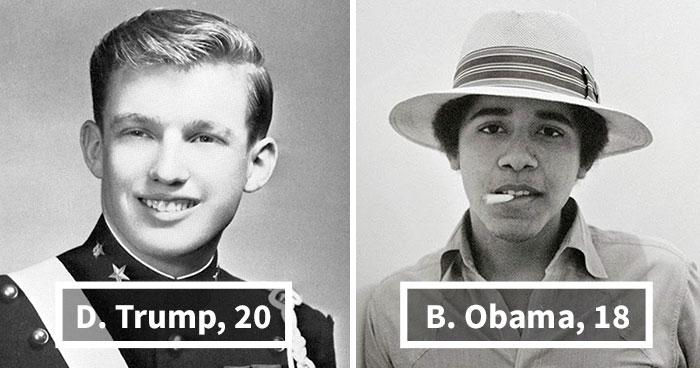 20 ABŞ prezidentinin gənclik şəkilləri