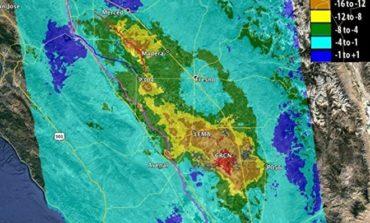 NASA: Kaliforniyanın şimal hissəsi su altında qalmağabaşladı