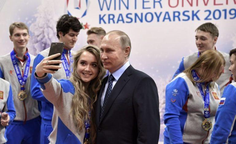 Dünya liderləri ilə selfi