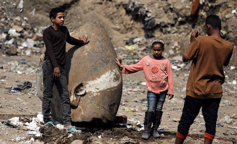 Misirdə 3 min illik 2-ci Ramses heykəli tapıldı