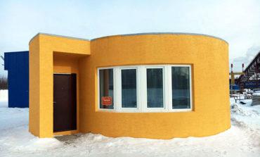 Bu ev 24 saat ərzində 3D texnologiyası ilə inşa edildi | Video