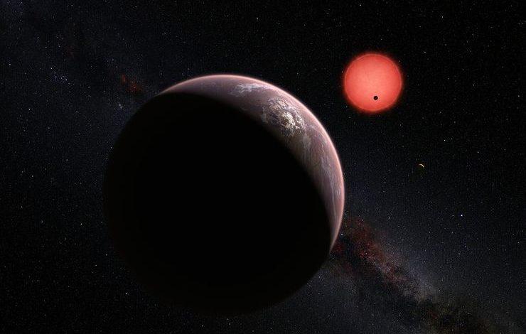 7 planetli sistem TRAPPIST-1'in ilk şəkliyayımlandı