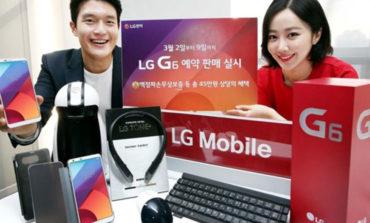 LG G6-nın ilk satış rəqəmləri gəldi