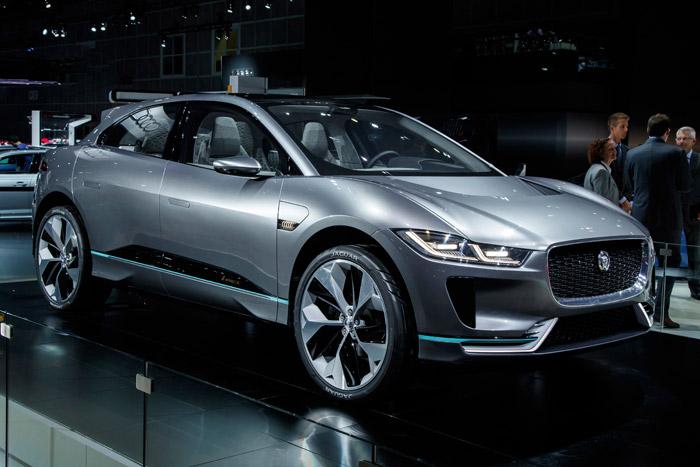 """""""Jaguar"""" şirkətindən elektriklə çalışan ilk krossover"""