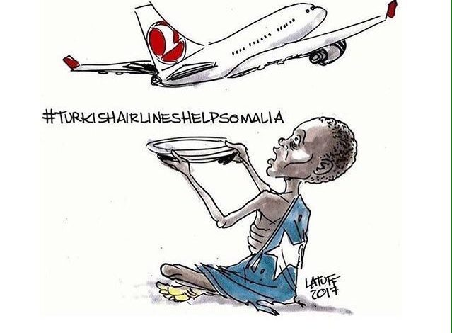 Məşhurlar Türk Hava Yollarından kömək istəyir: #TurkishAirlinesHelpSomalia