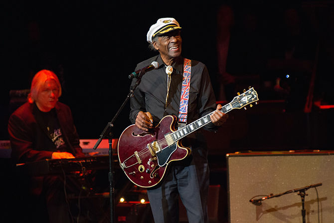 Rock'n roll əfsanəsi Chuck Berry vəfat etdi