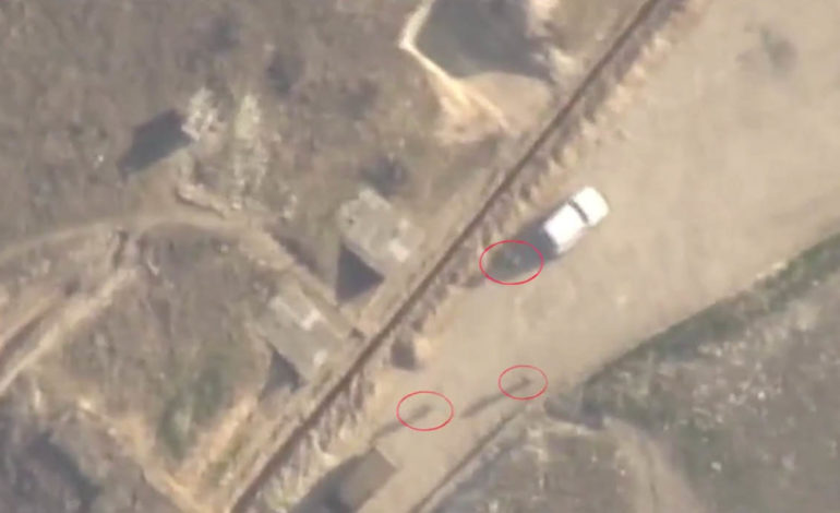 Ermənistan silahlı qüvvələrinin dayaq məntəqələrinin qərargahına cavab zərbəsi endirilib – VİDEO