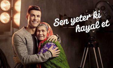 Cristiano Ronaldo növbəti dəfə Türk Telekom reklamına çəkildi